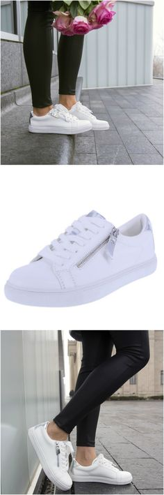 e591c4db2d8 Get sporty cool style with an edgy twist in the Genesis Sneaker from Brash.  Chic