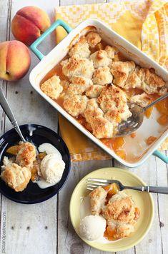 Peach Cobbler | picsandpastries