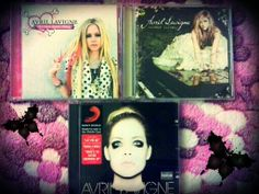 Avril Lavigne Cd's 3....Love her Music  Style..This 3 is the BEST!!! MINE