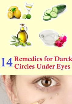 Dark circles are formed under the eyes as the skin around the eyes is very delicate and thinner when compared to other parts of the body.
