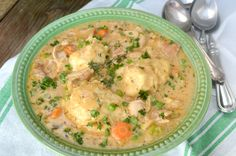 I love, love, love chicken and dumplings. A warm bowl of homemade chicken and dumplings is my ultimate comfort food. It's one of those dishes that everyone in my family loves and gets them to the dinner table quickly. Even the pickiesteater in our family, my Dad, loves this recipe! Believe me, that's saying a  …  Continue reading →