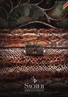 Natürliche Materialien bilden die Basis für diese Kollektion. Durch Naturleder in matten Farben erhalten SACHER Schmuckkoffer und Schmuckkästchen ihren natürlichen und besonderen Charme, dazu zarte Farben im passenden Stil.