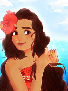 Moana [+Speedpaint] by TannaCat