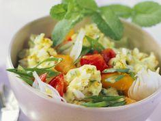 Reis-Mango-Salat mit Tomaten - smarter - Zeit: 30 Min.   eatsmarter.de