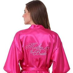 Satin Kimono Robe | Gifts For The Mother Of The Bride