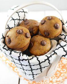 Chocolate Chip Pumpkin Muffins #lmldfood