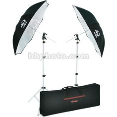 Photogenic Two Umbrella and Stand Kit 926621 B&H Photo Video