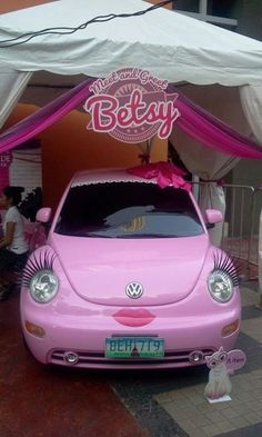 For the girl who has everything...I think I would die laughing if I were driving down the road and saw this in the rear view mirror!