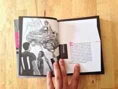 odio el rosa («historia de dani» e «historia de sara»)  una propuesta para empezar a leer desde la cubierta, atravesando los créditos para meternos en la historia sin interrupciones (;