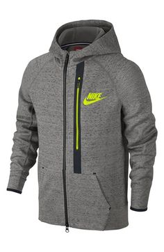 Nike  Tech Fleece  Full Zip Hoodie (Little Boys  amp  Big Boys) 103aaeb4a