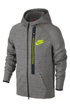 Nike 'Tech Fleece' Full Zip Hoodie (Little Boys & Big Boys)