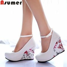 $$$ This is great for2016 new arrive High Wedges Platform wedges Pumps For Women Casual Dress Elegant Flower Print Wedges Shoes woman2016 new arrive High Wedges Platform wedges Pumps For Women Casual Dress Elegant Flower Print Wedges Shoes womanLow Price Guarantee...Cleck Hot Deals >>>  http://id382170594.cloudns.pointto.us/32570754088.html