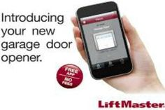did you forget to close the garage door again? This garage door opener & app can help. Garage Door Opener App, Garage Doors, Open App, How To Introduce Yourself, Technology, Sweet, Tech, Candy, Tecnologia