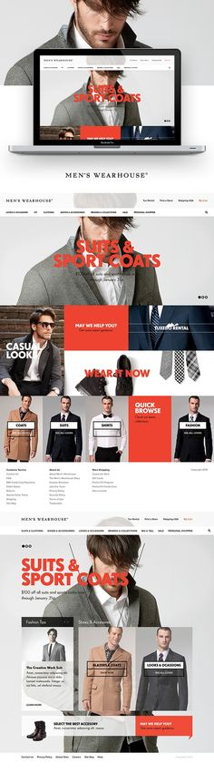 Had the pleasure of creating this homepage concept for an innovative new wetsuit company from ...