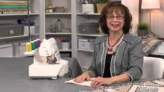 Learn Serger Sewing with Debbie Cacciamani -- an Annie's Video Class
