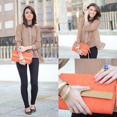 Chiffon blouse (by Alexandra Per) http://lookbook.nu/look/3135837-chiffon-blouse