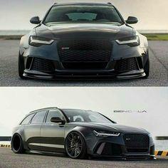 Audi RS6 beast-mode