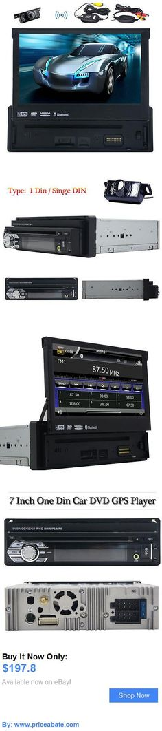 Car Audio Video And GPS: Single 1 Din Gps Navi 7 Car Stereo Dvd Player Auto Radio Audio Bt Camera 8G Map BUY IT NOW ONLY: $197.8 #priceabateCarAudioVideoAndGPS OR #priceabate