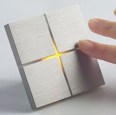 The new and stylish programmable switch, called the Sentido by Basalte, redefines home lighting, allowing you to activate or de-activate multiple lights by the stroke of a finger. With a smooth and sensitive surface area, the switch keenly recognizes varying finger movements and instantly provides the requested function.