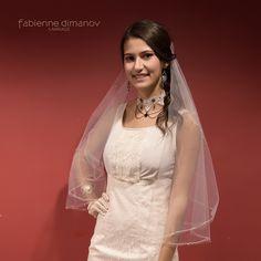 La robe de mariage civil durable que vous pourrez remettre pour une autre occasion... signée Fabienne Dimanov (soie et dentelle de calais) Occasion, Paris, Wedding Dresses, Collection, Fashion, Silk, Other, Bride Dresses, Moda