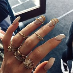Awesome dope best great nail design and rings fashion jewelry amazing cute Kylie Jenner style nails and jewerly
