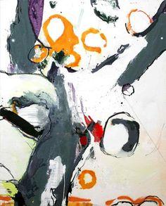 Olivier MARTY. Arbre, huile sur toile, 160x130cm. 2004