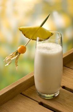 Batida de Coco sem Álcool e Leite Refrescante