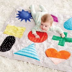 Shape Up Baby Activity Mat | The Land of Nod