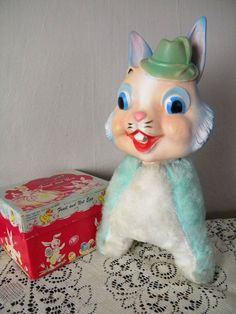 This Item is Reserved  Vintage My Toy Easter by SongbirdSalvation