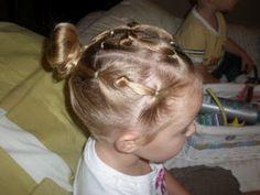 Girl Hairdos & Ideas: knots