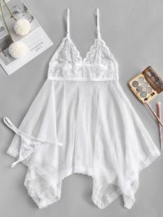 Intimates - Womens Sexy Bras, Lingerie and Underwear Online Shopping Strand Kaftan, Lingerie Bonita, Ropa Interior Babydoll, Cute Clothes For Women, Pretty Lingerie, White Lingerie, Online Clothing Stores, Women's Clothing, Night Gown