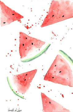 watermelon love Iphone Background Wallpaper, Aesthetic Iphone Wallpaper, Aesthetic Wallpapers, Ipad Background, Phone Backgrounds, Iphone Wallpapers, Summer Wallpaper, Pastel Wallpaper, Kawaii Wallpaper
