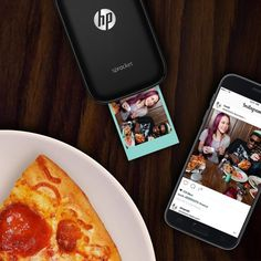 Live it - Love it - Print it: Printing off social media photos has never been easier from your smartphone. Connect your social media accounts to the free-to-download HP Sprocket App and instantly turn those photos into colorful prints.  Quickly customize and print your smartphone and social media photos using the free HP Sprocket App and Bluetooth technology. Main functions of the Sprocket portable photo printer: 2x3 photo printing on sticky-backed paper, mobile printing