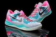 Kobe shoes 2013 Kobe VIII South Beach Fireberry 555035 110