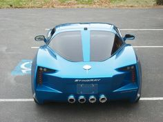 Transformer's Corvette Stingray Concept Replica from Custom Hell..I'd buy this.