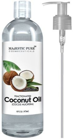 Majestic Pure Fractionated Coconut Oil, 16 Oz, 2016 Amazon Top Rated Wellness & Relaxation  #Health-Personal-Care