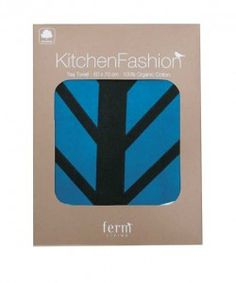 Kitchen Fashion - Ferm Living tea towels - fab packaging for house warming gifts too
