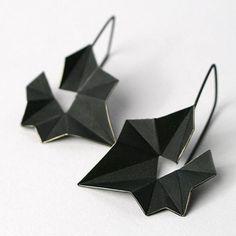 Earrings - patinated silver   - by Mimikra / Kinga Sulej