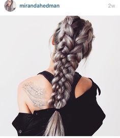 Warrior braid • Miranda Hedman
