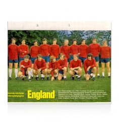 1966 England Magazine Cutting Hand Signed By 9 Inc Bobby Moore - 1966 England Team - Football Legends - Football - A1 Sporting Memorabilia