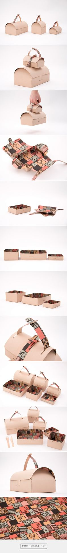 Kino Take Away #concept #packaging designed by Gustav Karlsson - http://www.packagingoftheworld.com/2015/04/kino-take-away-concept.html