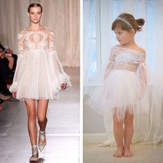 4-year-old Fashionista Kills It With Runway-Worthy Paper Dresses