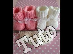 Knitting tutorial: baby booties part Knitting tutorial: baby booties part My Crafts and DIY Projects Always wanted to be able to knit, yet not certain w. Knit Baby Booties, Booties Crochet, Crochet Baby, Knit Crochet, Brick Stitch Earrings, Easy Knitting, To My Daughter, Diy Crafts, Point Mousse