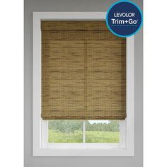 LEVOLOR Trim+Go Tatami Light Filtering Cordless Roman Shade (Actual: x at Lowe's. Backed by a century of quality, LEVOLOROR Blinds and Shades are trusted to work beautifully day after day, year after year. With free, same-day sizing, Bamboo Roman Shades, Cordless Roman Shades, Diy Roman Shades, Privacy Shades, Shades Blinds, Lift Design, Woven Shades, Cellular Shades, Light Filter