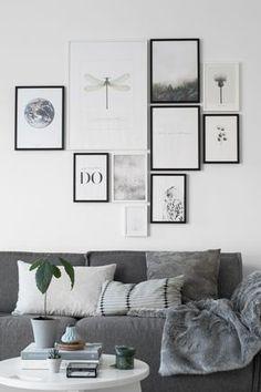 Photo wall livingroom Tanja van Hoogdalem