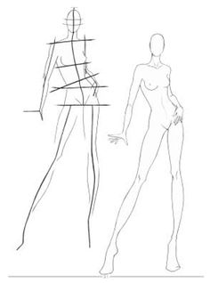 Fashion Sketches Body on How to Draw for Beginner | Fashions Show Blog