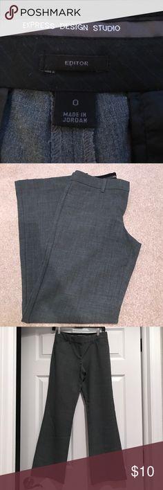 Express dress slack EXPRESS DESIGN STUDIO EDITOR SLACKS❣️EXCELLENT CONDITION❣️SIZE 0 SHORT(30inch inseam)❣️10% OFF WHEN YOU BUNDLE❣️ Express Pants