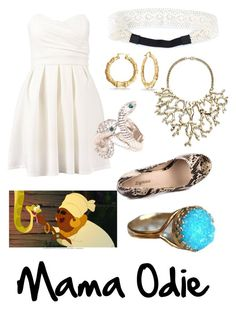 """""""Mama Odie"""" by krusi611 ❤ liked on Polyvore featuring TFNC, NLY Accessories, Bling Jewelry, Kenneth Jay Lane, Roberto Cavalli and Zigi Soho"""