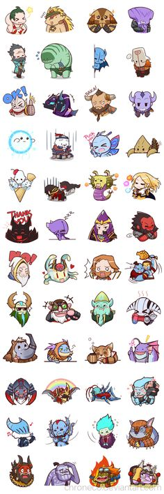 Dota2 Sticker - Compilation by chroneco