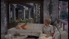 I always liked the ranch house from the original Parent Trap because of its indoor/outdoor feel with the courtyard in the middle.